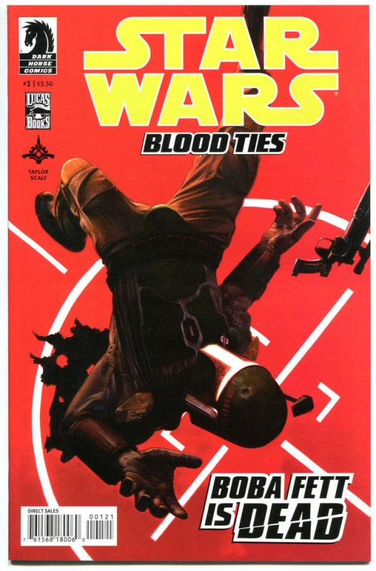 STAR WARS Blood Ties #1, NM, Variant, Boba Fett Is Dead, 2012, more SW in store