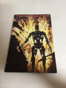 Terminator The Burning Earth Tpb Nm 1984 1st Printing Now Comics Alex Ross