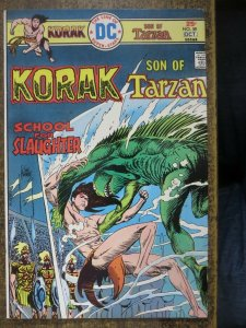 KORAK SON OF TARZAN 59 VG-F DC 10/1975 COMICS BOOK