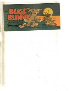 Bugs Bunny Outwits The Smugglers Warner Brothers Mini Comic Book Flipbook JL11