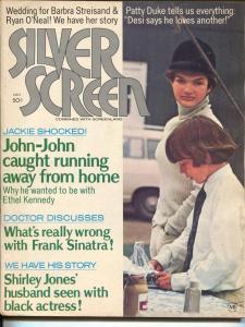 Silver Screen-Patty Duke-Grace Kelly-Shirley Jones-Frank Sinatra-Oct-1971