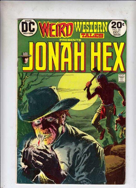 Weird Western Tales #20 (Feb-73) FN/VF Mid-High-Grade Jonah Hex