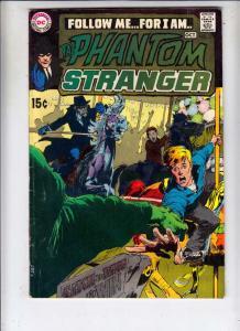 Phantom Stranger, The #3 (Oct-69) FN/VF+ High-Grade The Phantom Stranger