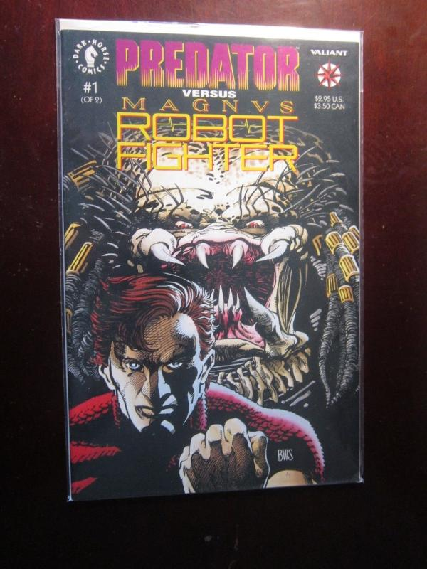 Predator vs Magnus Robot Fighter #1 to #2 - VF - 1992