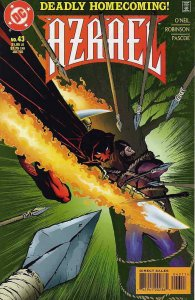 Azrael #43 VF/NM; DC   save on shipping - details inside