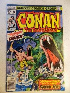CONAN THE BARBARIAN # 86