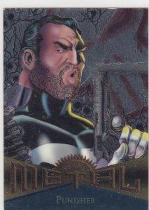 1995 Fleer Marvel Metal PUNISHER #69  Card