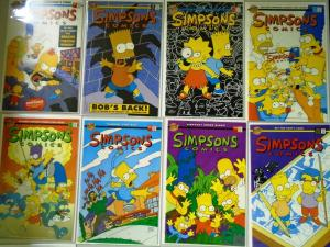 Hi-Grade Simpsons Lot 36 Different From:#1-49 8.0 VF (1993-2000)