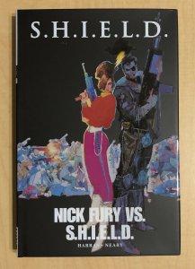S.H.I.E.L.D. Nick Fury vs SHIELD HC Bob Harras & Paul Neary
