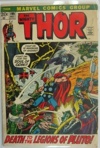 The Mighty Thor #199 - 3.5 VG- - 1972