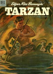 Tarzan (1948 series) #58, Good+ (Stock photo)