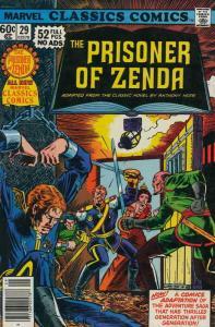 Marvel Classics Comics #29 FN; Marvel   save on shipping - details inside