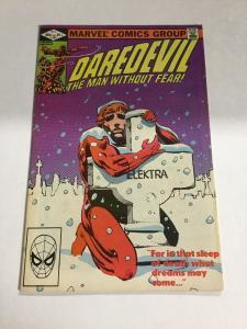 Daredevil 182 Vf- Very Fine- 7.5 Marvel Comics