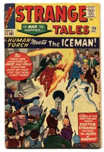 Strange Tales #120 Diko Kirby Human Torch-comic book VG