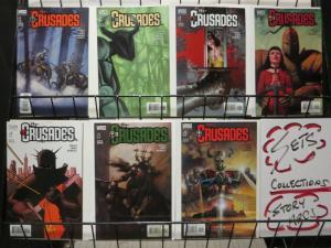 CRUSADES (2001 VERTIGO) 6-12  The Second Crusade
