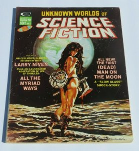 Unknown Worlds of Science Fiction #5 VG/FN Decapitated Head Cover 1975 Magazine