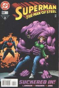 Superman: The Man of Steel #59, VF+ (Stock photo)