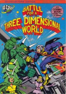 Battle for a Three Dimensional World #1, VF+ (Stock photo)