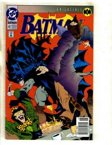Batman Knightfall COMPLETE 19 Part DC Comics Series # 1-19 492-500 659-666 SM8