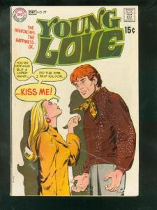 YOUNG LOVE #77 1969-DC ROMANCE--- G