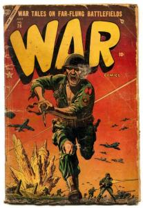 War Comics #26 1954- Atlas comics LOW GRADE
