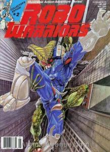 Robo Warriors #2 VF; CFW   save on shipping - details inside