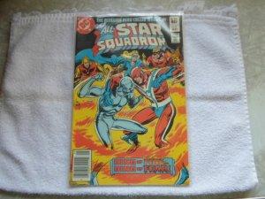 1982 DC COMICS THE ALL STAR SQUADRON # 9
