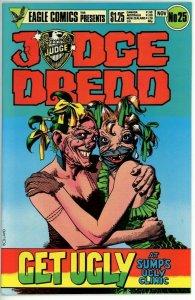 Judge Dredd #25 (1983 Eagle) - 8.0 VF *Otto Sump's Ugly Clinic*