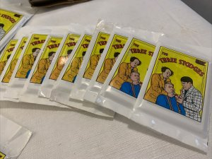 1989 Three Stooges Trading Card Packs (Lot of 31) w/Box Unopened *Distressed (A6