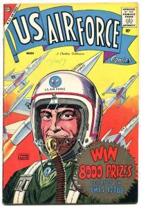 U.S. Air Force #3 1959- Charlton Silver Age comic FN+