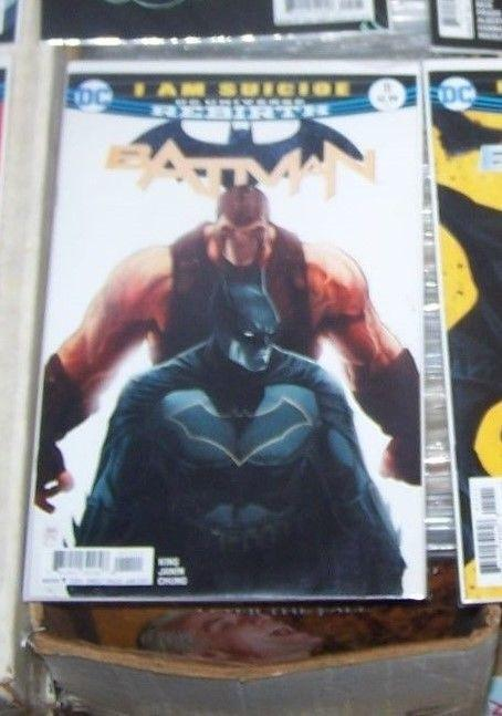 Batman # 11 JAN 2017  DC UNIVERSE REBIRTH  l am  suicide PT 3  BANE