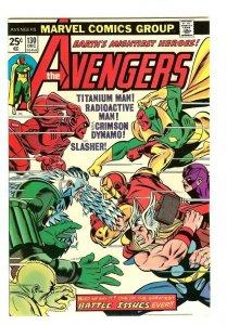 The Avengers #130. HIGH GRADE!