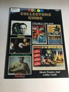 Color Collectors Guide Volume 2 II Nm- Near Mint- Magazine