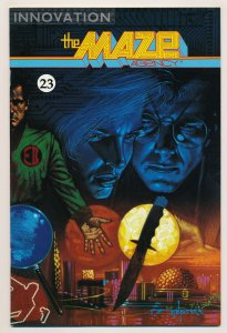 Maze Agency (1988 1st Series) #23 VF Last issue of the series