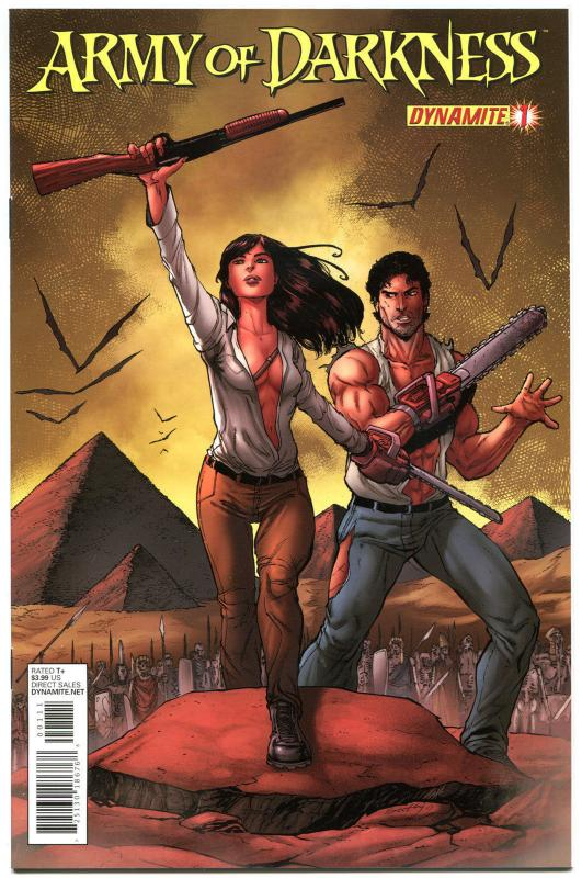 ARMY OF DARKNESS #1, NM, Bruce Campbell, 2012, Vol 3, Horror, more AOD in store