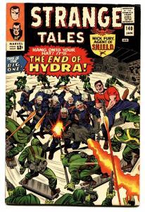 STRANGE TALES #140 comic book JACK KIRBY-NICK FURY-SILVER AGE-MARVEL VF