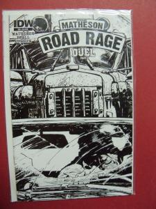 ROAD RAGE DUEL PART 2 #4 COVER R1   (9.0 to 9.4 or better)  IDW
