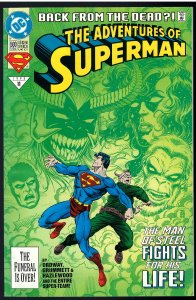 Adventures of Superman #500B (DC, 1993)