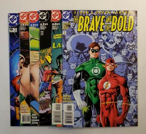 FLASH & GREEN LANTERN THE BRAVE AND THE BRAVE AND THE BOLD #1-6 SET DC 1999