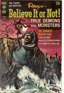 RIPLEYS BELIEVE IT OR NOT 14 VF-NM June 1969 COMICS BOOK