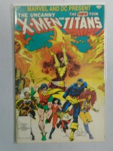 X-Men and the Teen Titans #1 (1982 1st print) 3.5/VG-