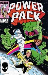 Power Pack #2 FN; Marvel   save on shipping - details inside