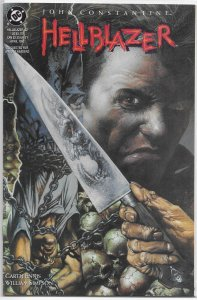 Hellblazer (vol. 1, 1988) # 52 VF (Royal Blood 1) Ennis/Simpson, Fabry cover