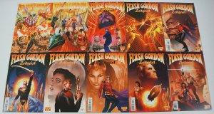 Flash Gordon: Zeitgeist #1-10 VF/NM complete series - alex ross/paul renaud set