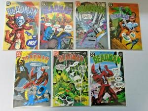 Deadman set #1 to #7 1st Series all 7 different books 8.5 VF+ (1985)