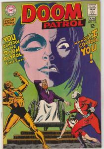 Doom Patrol #118 (Apr-68) VF/NM High-Grade Proffesor, Negative Man, Elasti-Wo...