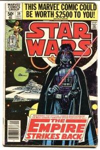 STAR WARS #39-DARTH VADER-1980- Empire Strikes Back VG comic book