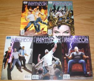 Michael Chiklis' Pantheon #1-5 VF/NM complete series - greek mythology 2010 IDW