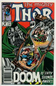 Marvel comics The Mighty Thor #409, DOOM 1989 ~  VF (PF562)