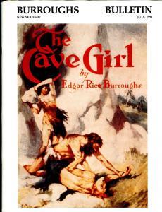 Burroughs Bulletin New Series #7 1991-ERB-Tarzan-J. Allen St. John-Cave Girl-VF
